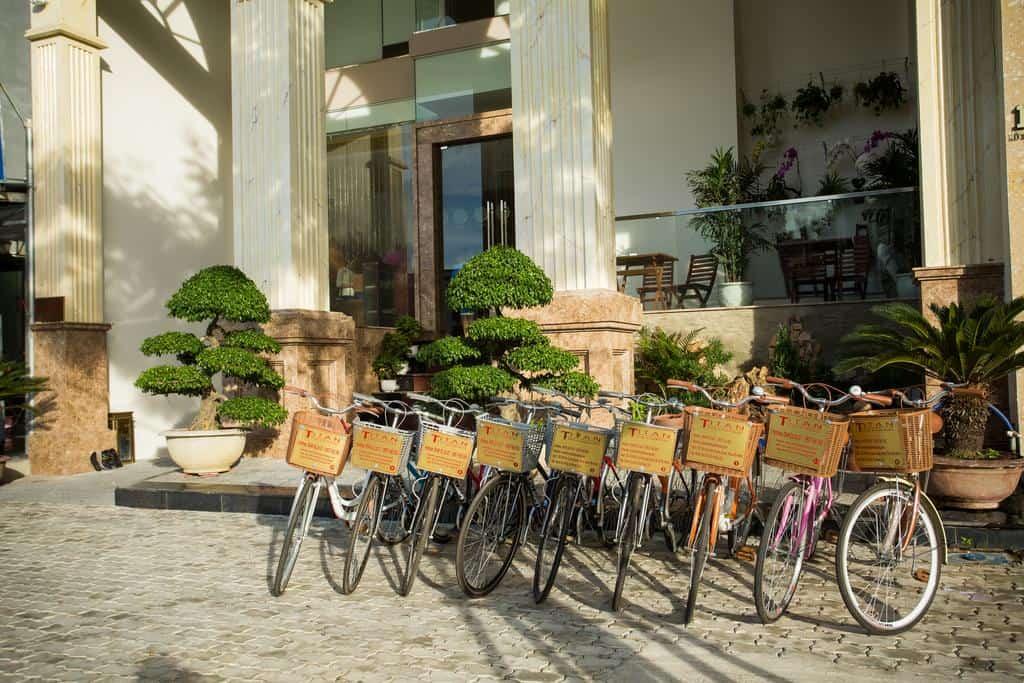 Dịch vụ sử dụng xe đạp miễn phí tại khách sạn