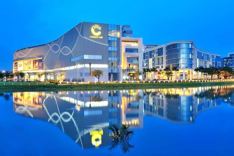 Crescent Mall địa điểm ăn uống, vui chơi giải trí tích hợp ngay tại trung tâm thương mại - Nguồn ảnh: Internet