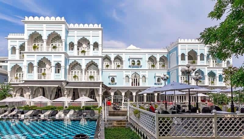 Tajmasago Resort thiết kế theo kiến trúc Châu Âu đầy ấn tượng - Nguồn ảnh: Internet