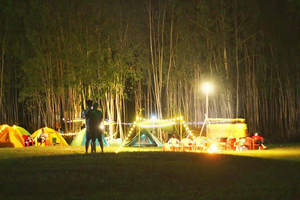 Trải nghiệm cảm giác cắm trại qua đêm cực thú vị ở hồ Dầu Tiếng Bình Dương - Nguồn ảnh: FB Ân Lê