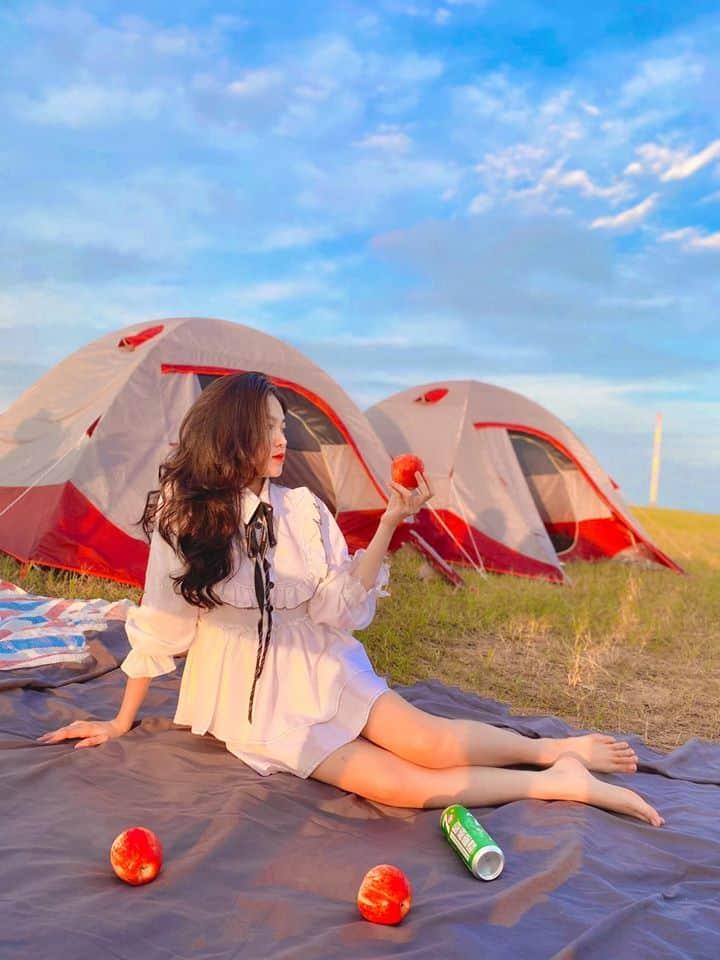 """""""Sống ảo"""" cực chất lượng ở hồ Dầu Tiếng - Nguồn ảnh: FB Minh Ngọc"""