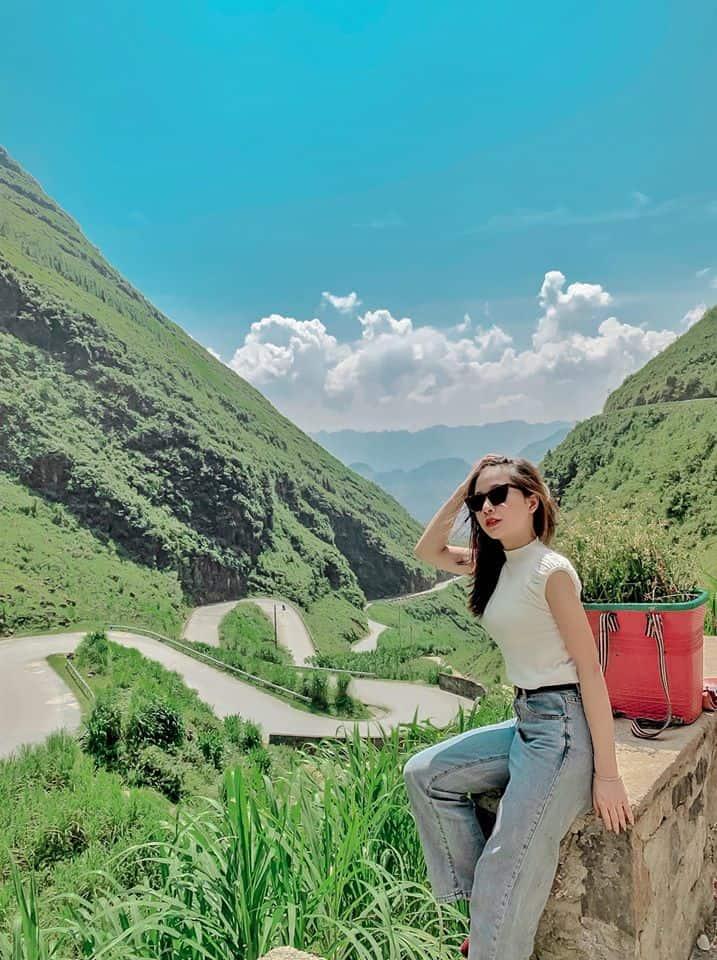 Dốc Thẩm Mã là điểm check in không thể bỏ qua khi đến Hà Giang. Hình: Dương Kiều Mai