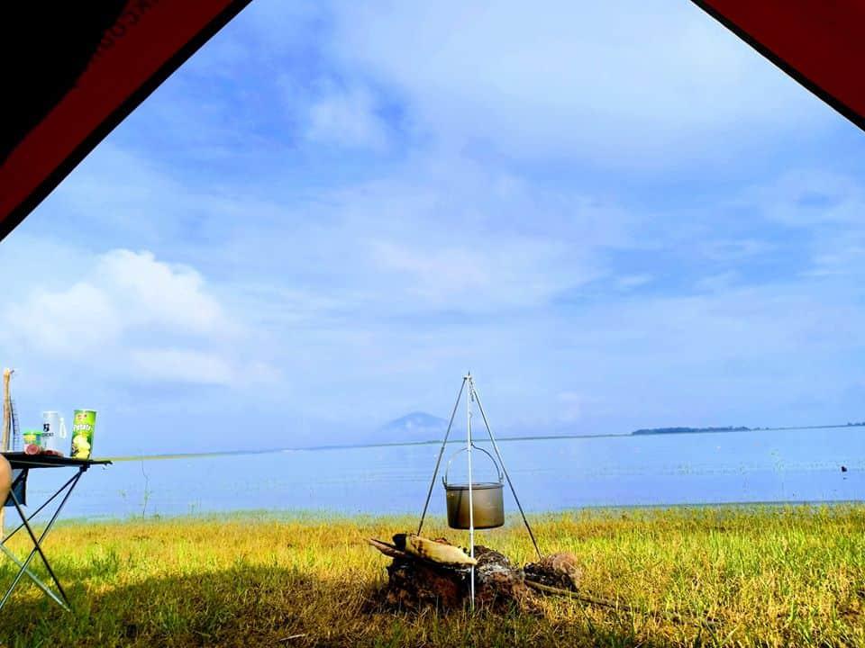 Hồ Dầu Tiếng là hồ nước ngọt nhân tạo lớn nhát Việt Nam - Nguồn ảnh: Internet