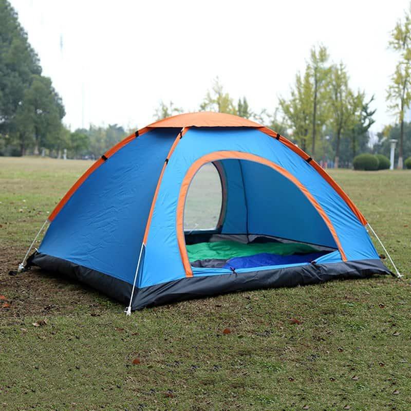 Lều cắm trại tự bung tiết kiệm thời gian dựng trại - Nguồn ảnh: Internet
