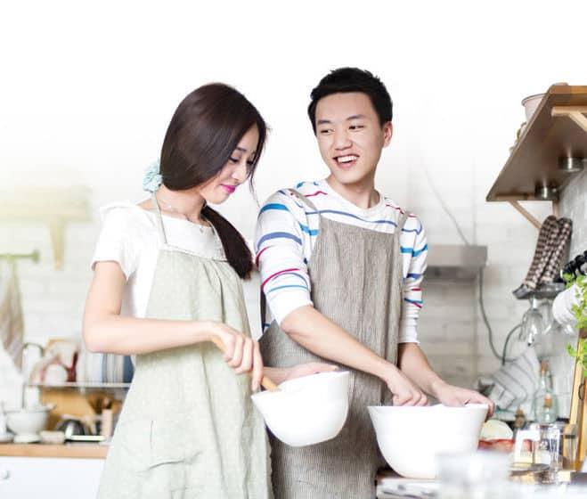 Dành chút thời gian vào bếp với người yêu và nấu những món yêu thích của cả hai