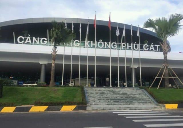 Cảng hàng không quốc tế Phù Cát, tỉnh Bình Định. Ảnh: Internet
