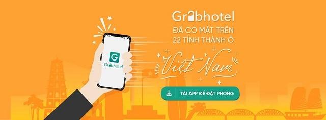 Grabhotel là nền tảng đặt phòng trực tuyến theo giờ có mật tại nhiều tỉnh thành Việt Nam