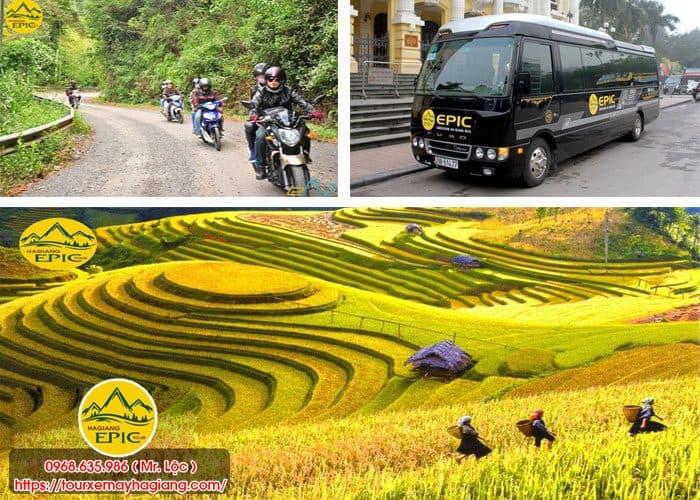 Tour khám phá Hà Giang bằng xe máy của Epic Tour