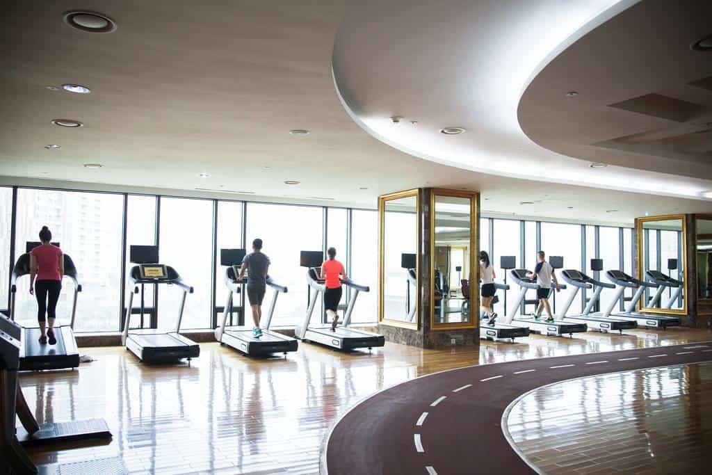Phòng Fitness với trang thiết bị hiện đại tại khách sạn Grand Plaza Hà Nội - Nguồn ảnh: Internet