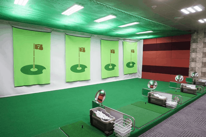Sân golf mini tại Grand Plaza Hotel Hanoi - Nguồn ảnh: Internet