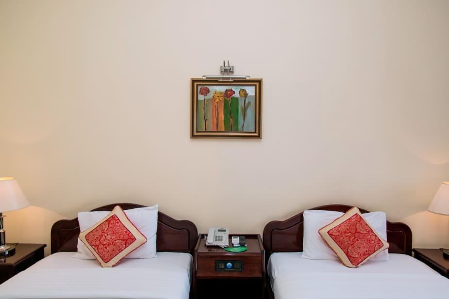 Phòng đơn giản nhất tại khách sạn Hải Âu