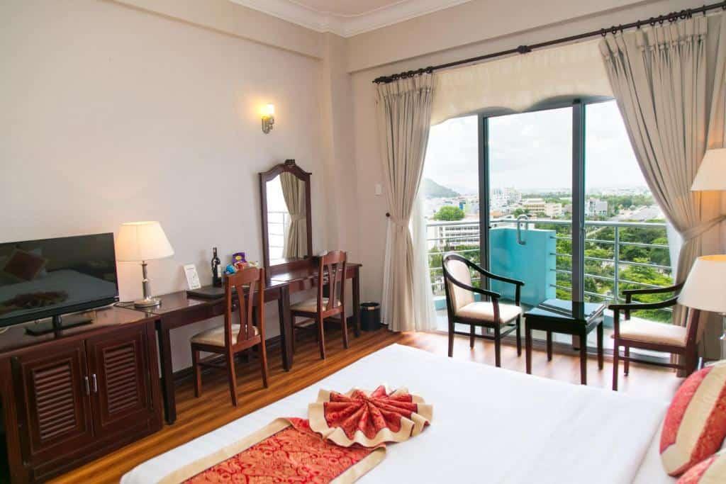 Hạng phòng Luxury, một trong những hạng phòng sang tại khách sạn Hải Âu