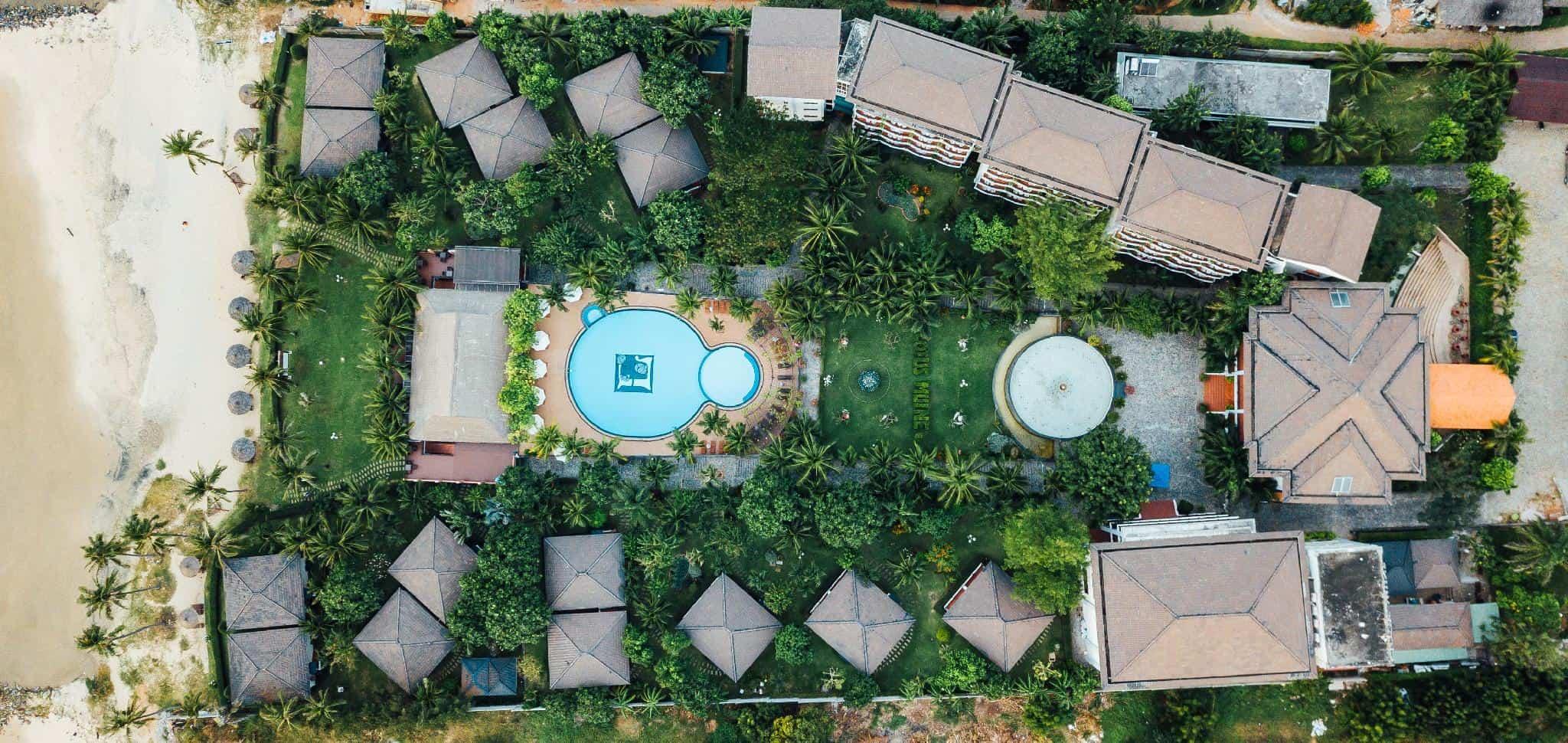 Toàn cảnh từ trên cao của Lotus Muine Resort & Spa
