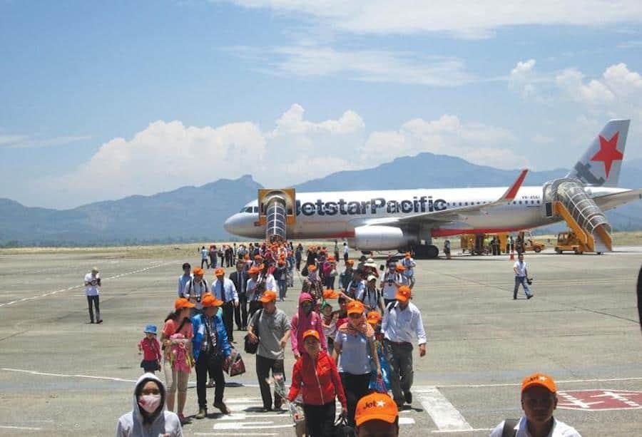 Hình ảnh bên trong sân bay Chu Lai - Nguồn ảnh: Internet