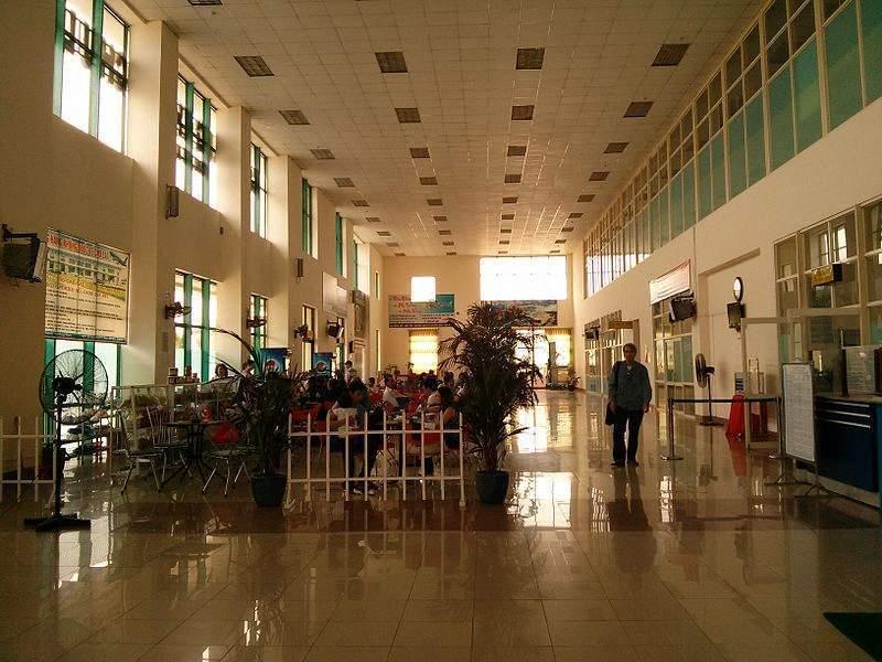 Nhà ga tại sân bay Chu Lai được chia thành nhiều khu vực phục vụ cho nhu cầu của hành khách - Nguồn ảnh: Internet