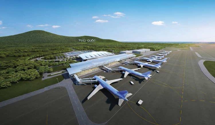 Sân bay Phú Quốc được nâng cấp để phục vụ được nhu cầu ngày càng cao của hành khách - Nguồn ảnh: Internet