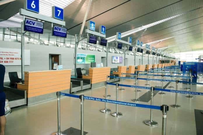 Sân bay có 36 quầy làm thủ tục check-in cho hành khách - Nguồn ảnh: Internet