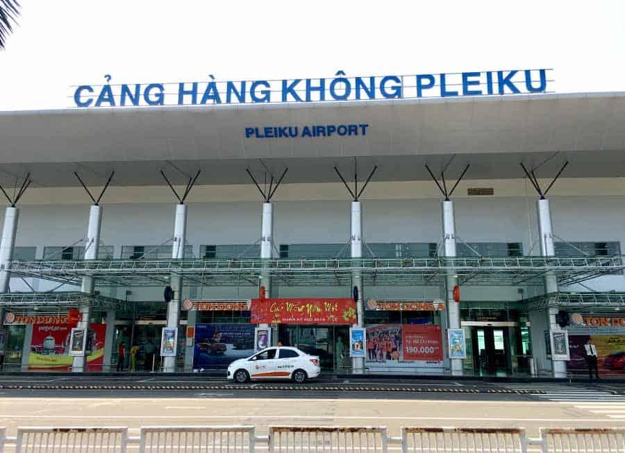 Sân bay Pleiku Gia Lai được nâng cấp, cải tạo nhiều lần để nâng cao chất lượng phục vụ - Nguồn ảnh: Internet