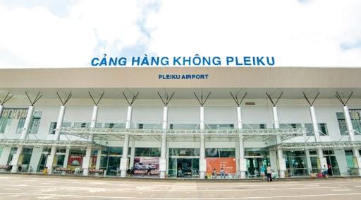 Dễ dàng di chuyển từ sân bay Pleiku đến trung tâm thành phố với khoảng cách không quá xa - Nguồn ảnh: Internet