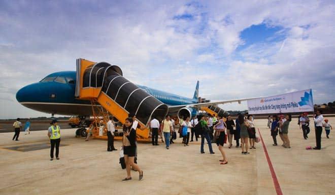 Một góc tại sân bay Pleiku - Gia Lai - Nguồn ảnh: Internet