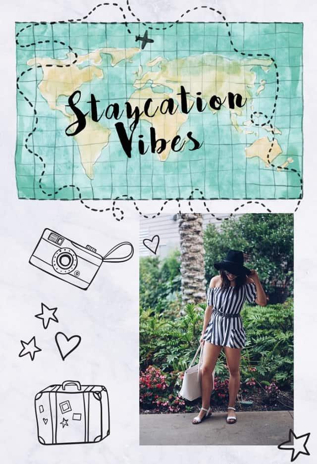 Đối với một chuyến Staycation thì hành trang mang theo hãy thật gọn nhẹ