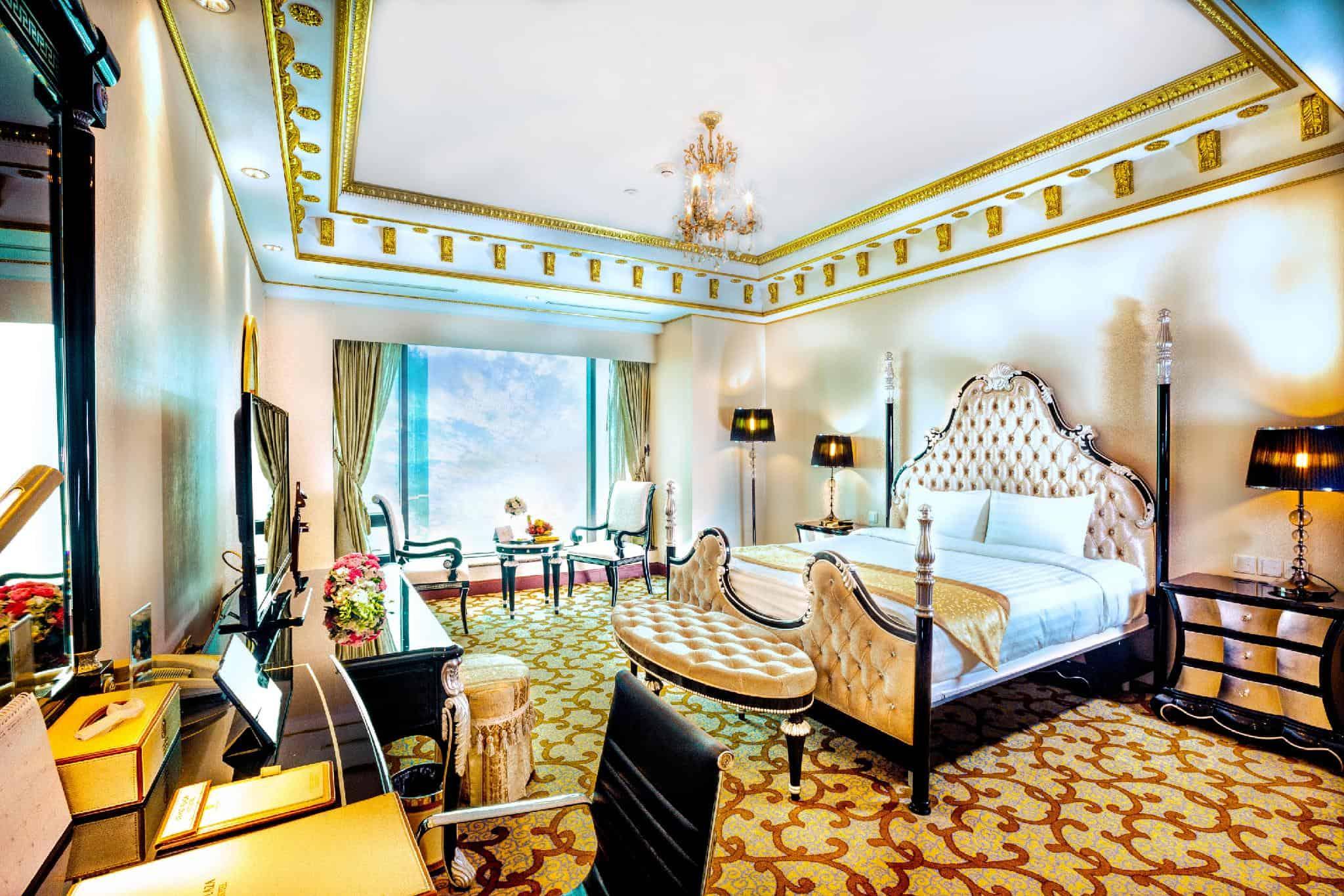 Phòng Suite Charmvit là phòng đẳng cấp bậc nhất tại Grand Plaza Hotel - Nguồn ảnh: Internet