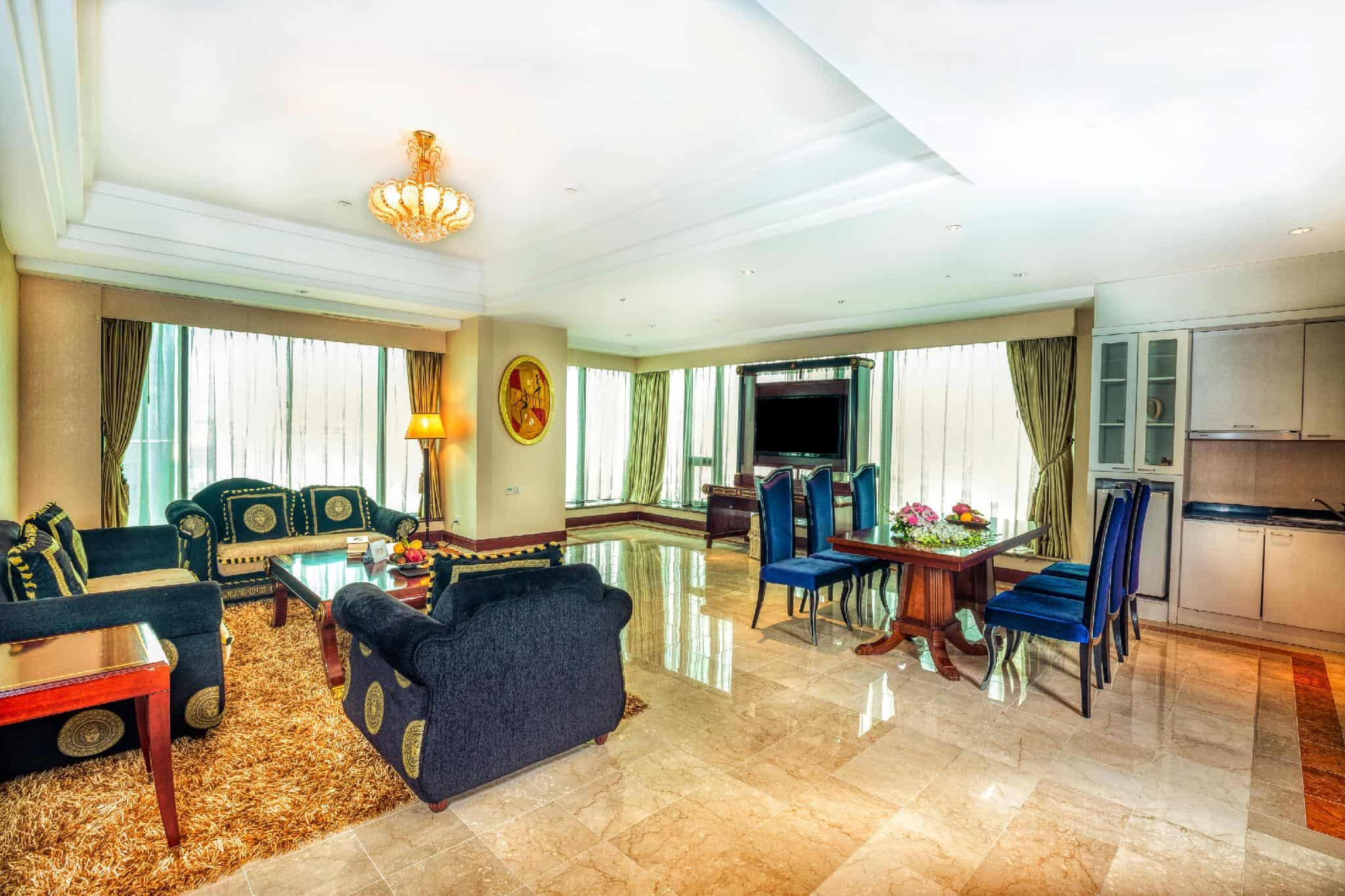Phòng Suite với nhiều sự lựa chọn, có diện tích lớn - Nguồn ảnh: Internet