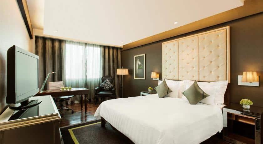 Phòng Superior tại khách sạn Movenpick Hà Nội với không gian tiện nghi - Nguồn ảnh: Internet