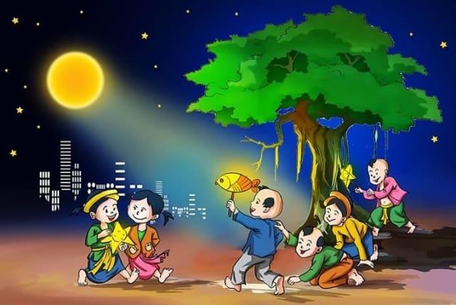 Một số trò chơi tổ chức cho trẻ em đêm Trung Thu