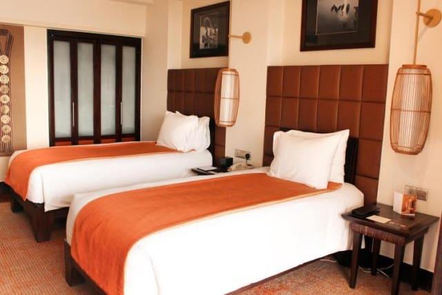 Phòng superior được trang bị 2 giường đơn hoặc 1 giường đôi. Ảnh: Internet