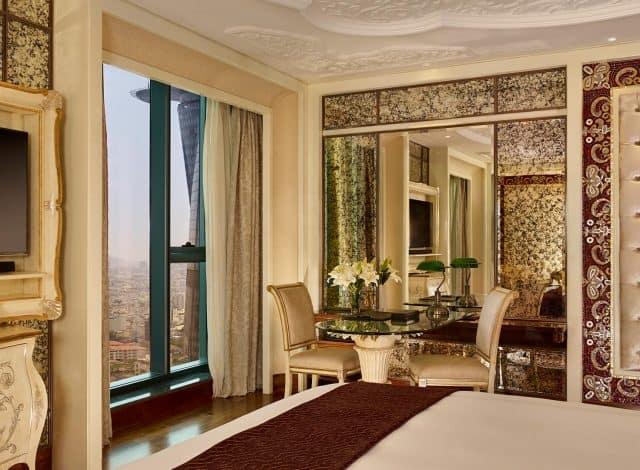 Phòng Reverie Suite mang đến những nét lãng mạn đầy nghệ thuật