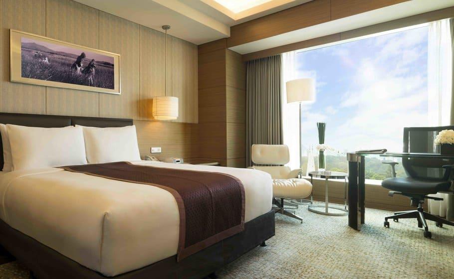 Phòng nghỉ tiêu chuẩn với thiết kế thanh lịch, sang trọng cùng nội thất cao cấp 1