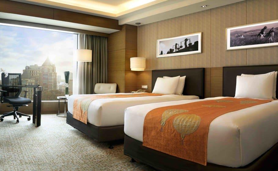 Phòng nghỉ tiêu chuẩn với thiết kế thanh lịch, sang trọng cùng nội thất cao cấp