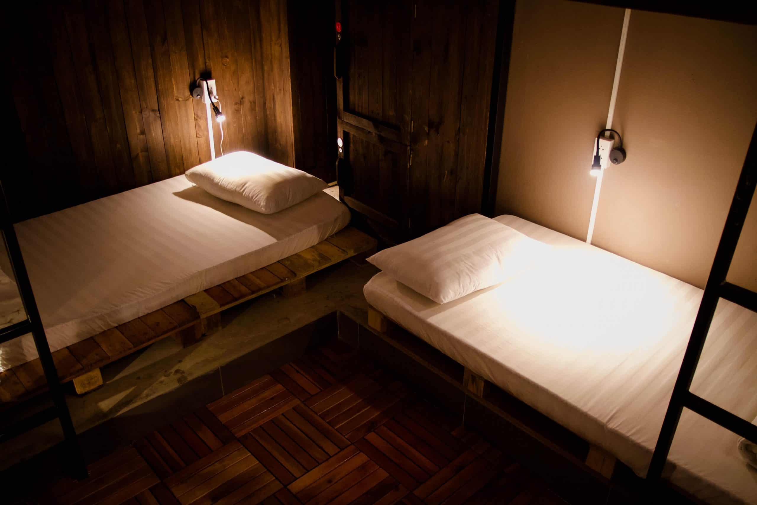 Thiết kế phòng nghỉ độc đáo và tối ưu diện tích