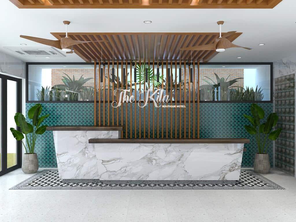 Khách sạn The Kila Boutique với không gian nội thất ấn tượng