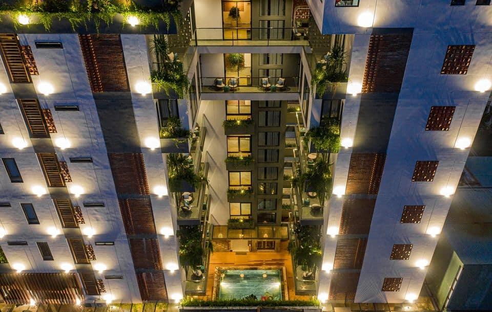 Khách sạn The Kila Boutique với view từ trên cao ấn tượng