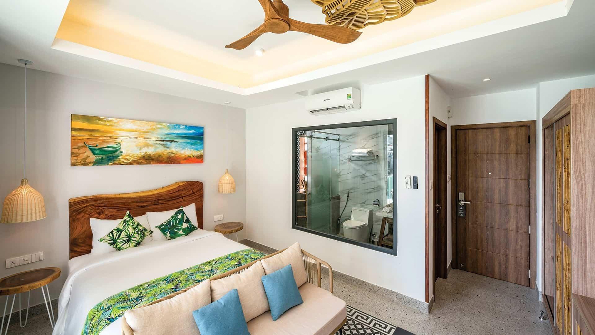 Executive Room là sự lựa chọn thú vị với view nhìn ra hướng biển hoặc thành phố