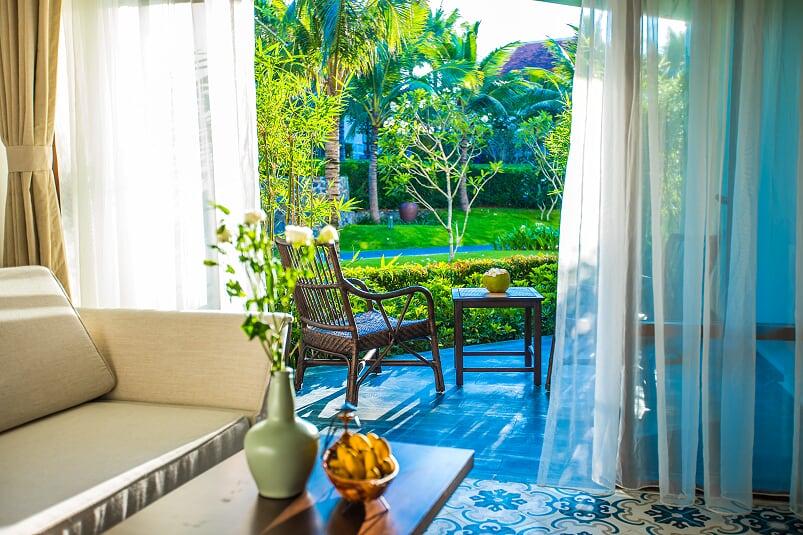 Phòng nghỉ có tầm nhìn tuyệt đẹp