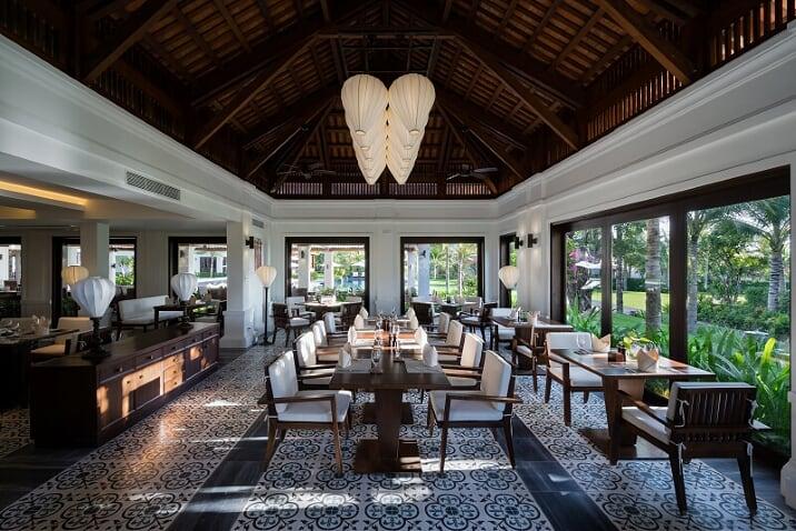 Nhà hàng Indochine sang trọng