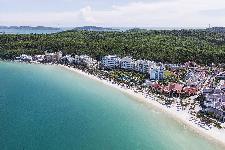 JW Marriott Phú Quốc Emerald Bay Resort & Spa nhìn từ trên cao