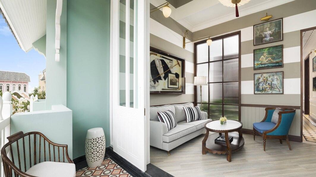 Rue De Lamarck du khách có thể chọn loại 1 giường King hoặc 2 giường đơn, không gian đầy đủ tiện nghi cao cấp