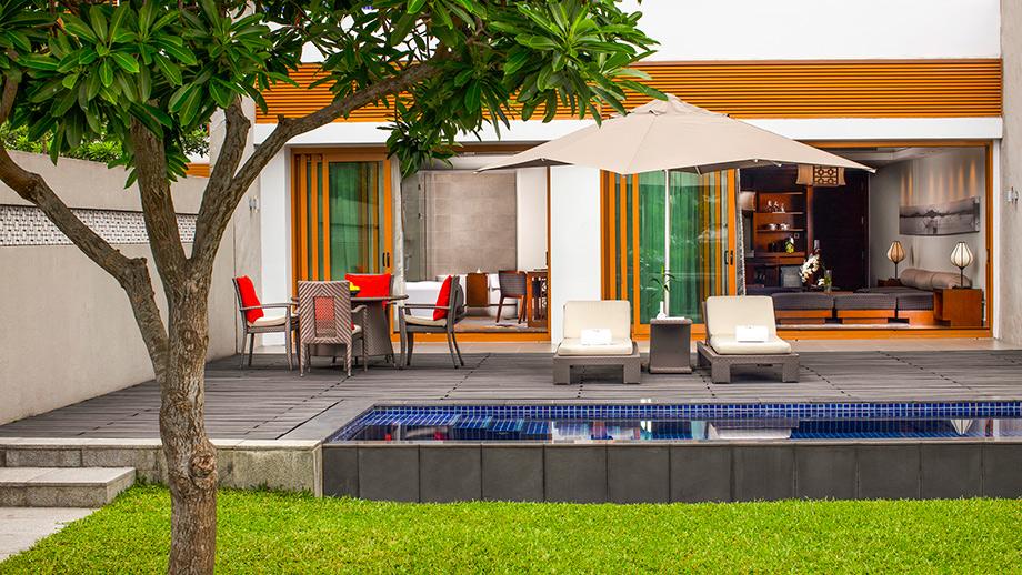 Courtyard Suite có diện tích từ 90m – 102m với 1 hoặc 2 phòng ngủ được bày trí tối ưu nhất nhằm đem lại cảm giác ấm cúng và thoải mái như ở chính căn nhà của mình.