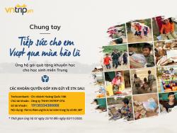 Chung tay tiếp sức cho trẻ em miền Trung vượt qua mùa bão lũ