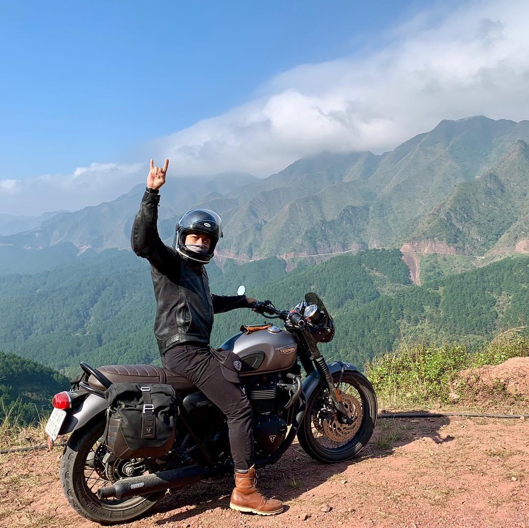 Phượt Bình Liêu bằng xe máy sẽ là một trải nghiệm tuyệt vời. Hình: @ndminh