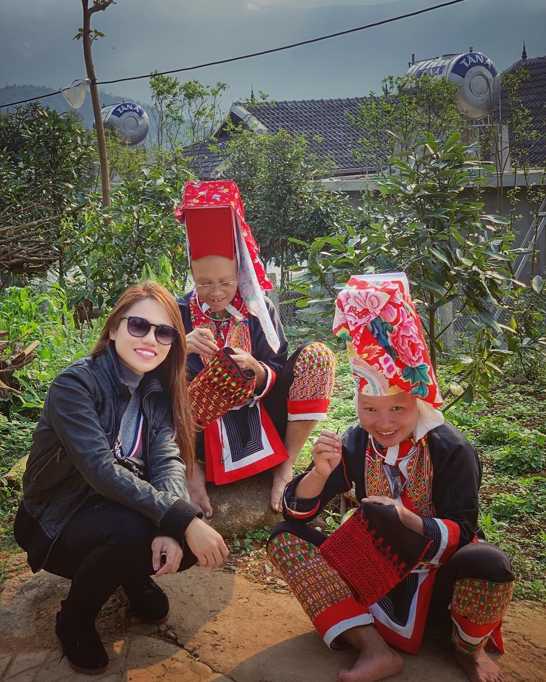 Tìm hiểu cuộc sống của người dân tộc Dao. Hình: @trangpinkyy
