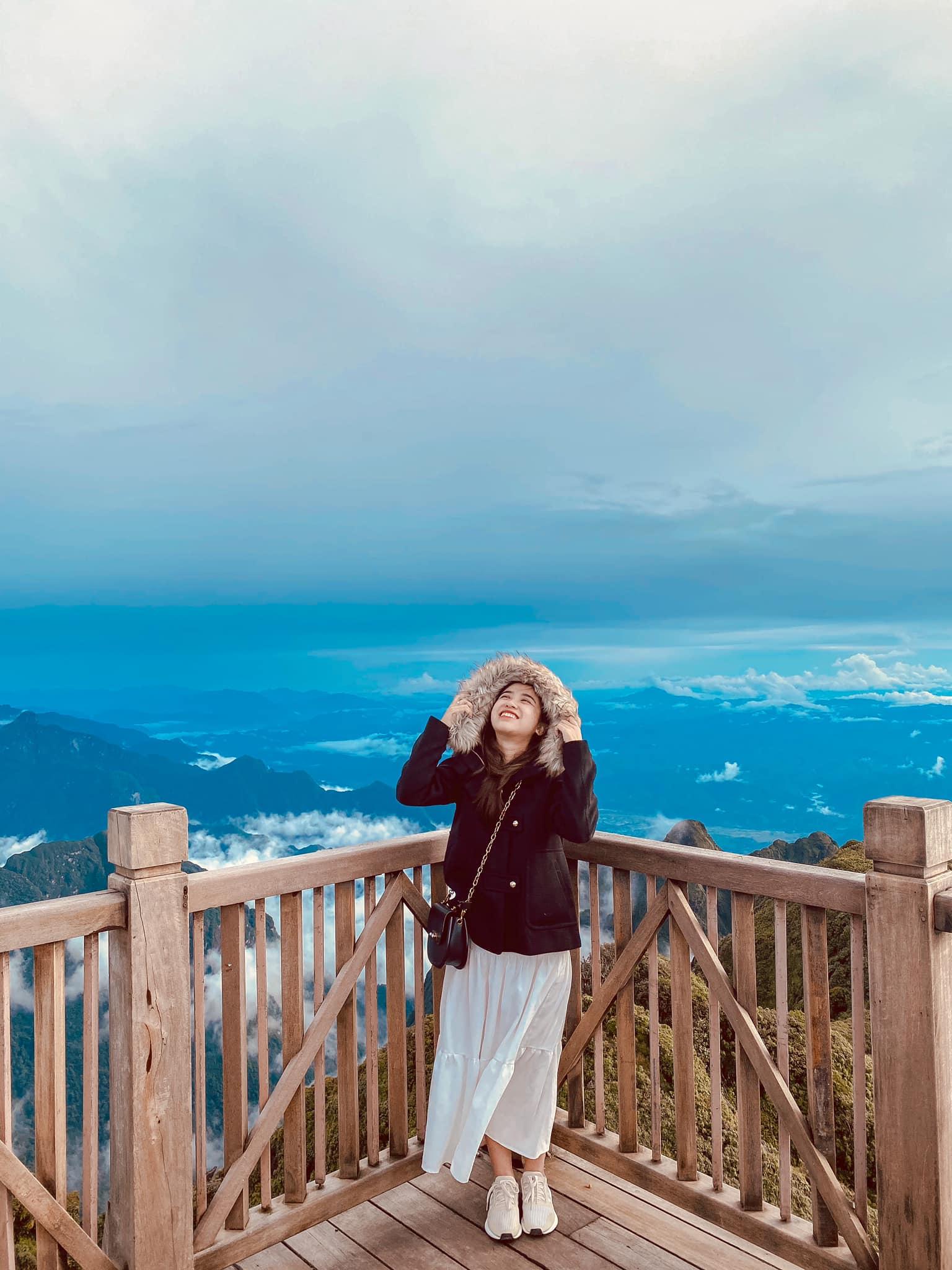 Đừng quên mang một chiếc áo ấm khi du lịch Sapa. Hình: Hien Pham Thu