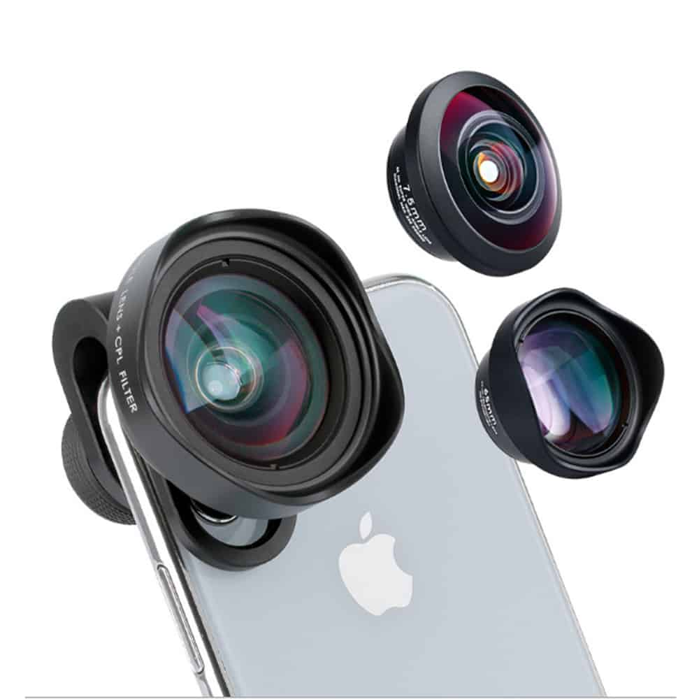 Một chiếc lens tháo rời giúp bạn thu được góc rộng