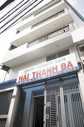 Bên ngoài khách sạn Hải Thanh Ba