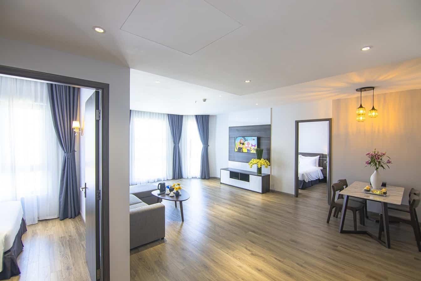 Căn hộ 2 phòng ngủ tại The Cap Hotel