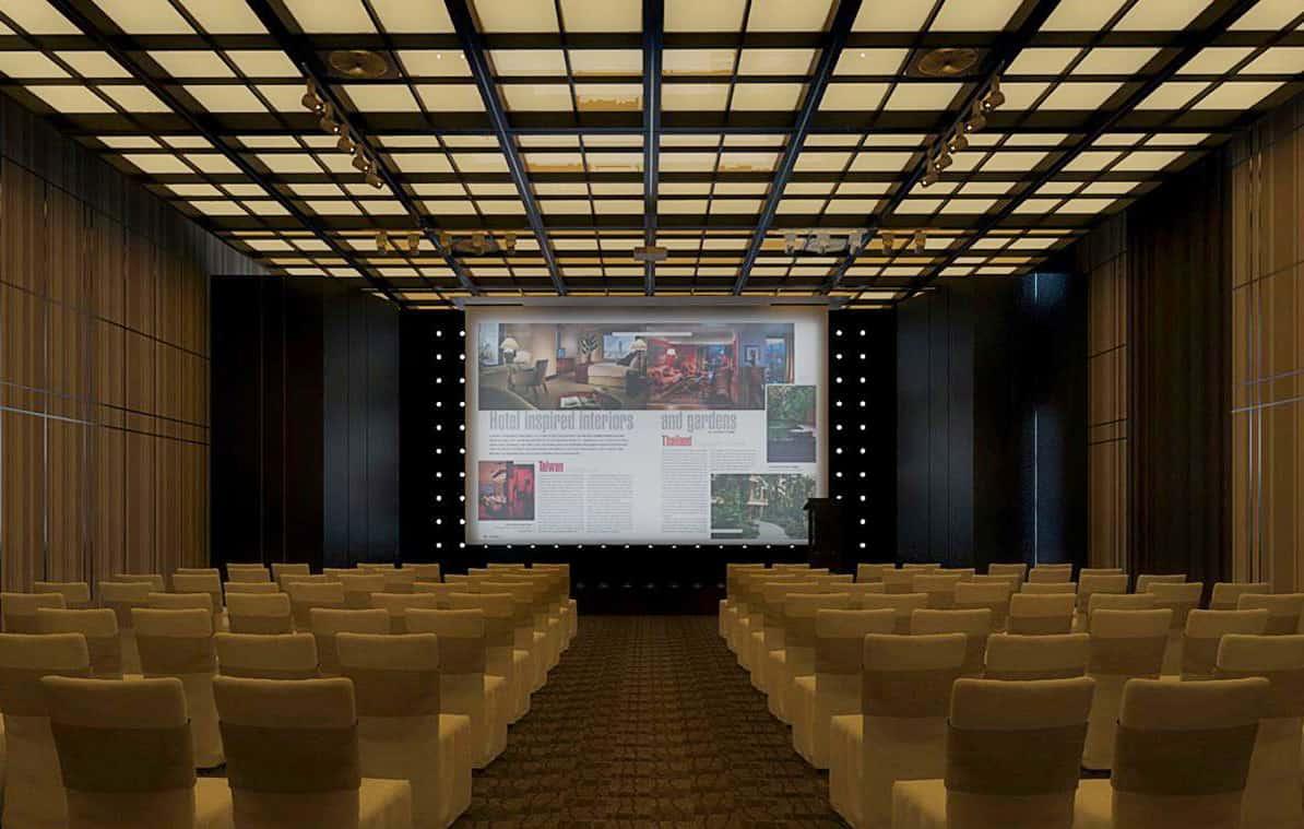Phòng hội nghị được thiết kế linh hoạt đáp ứng tất cả các yêu cầu vềhội nghị và sự kiện
